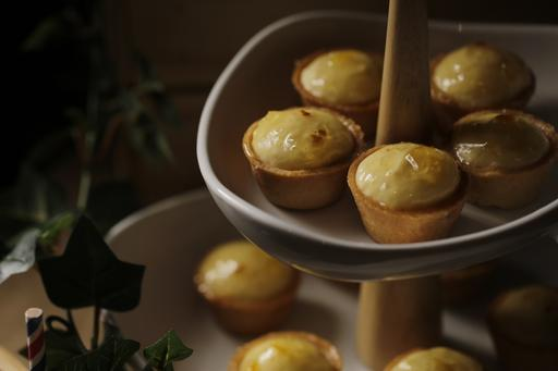 Mini Lemon Yuzu Tarts