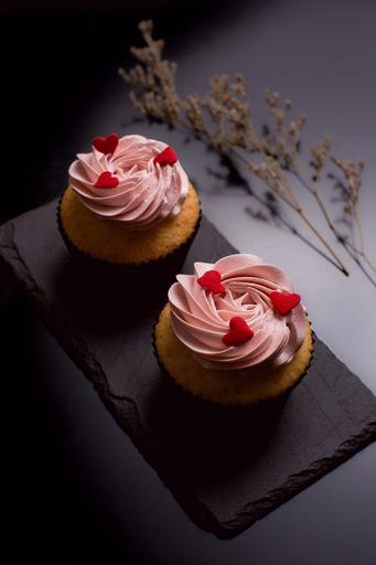 Strawberry Vanilla Cupcakes