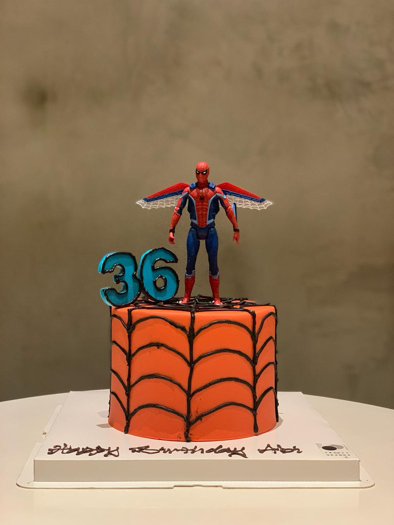 Spiderman Inspired Cake