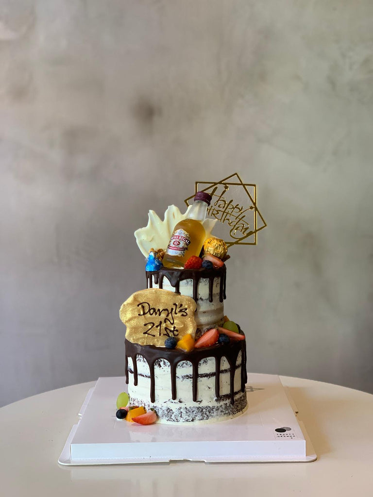 Two Tier Samuel Chivas Cake