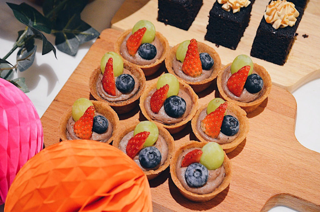 Mini Chocolate Fruit Tartlets