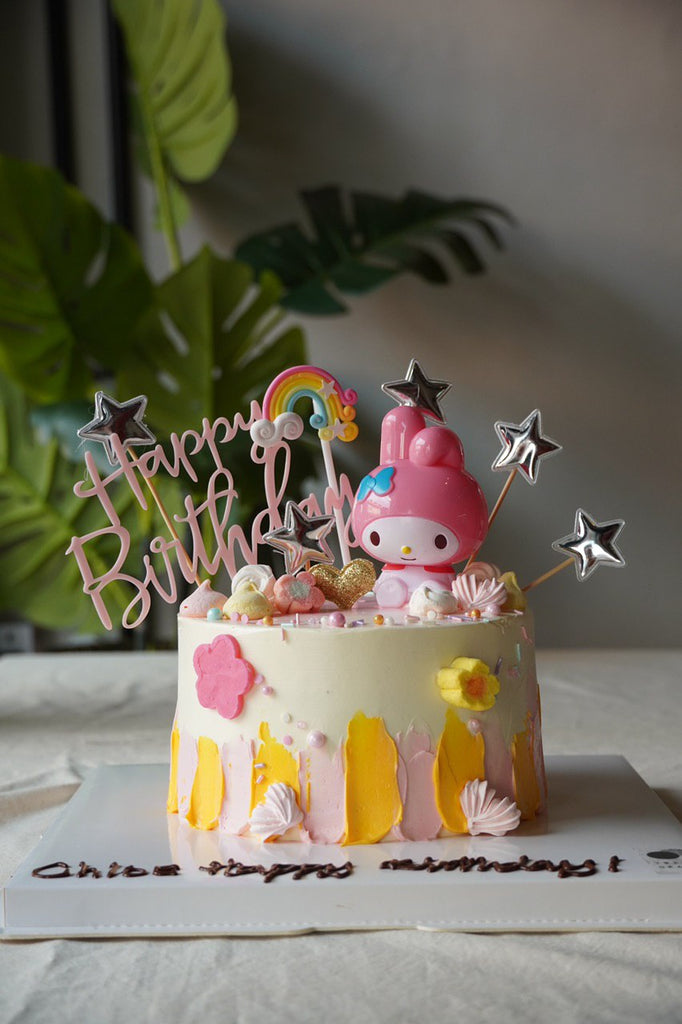 Melody Inspired Whimsical Cake