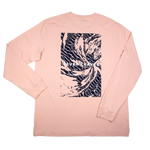 Peach Wave LS Tee