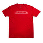 Red Seven Leaves Tee