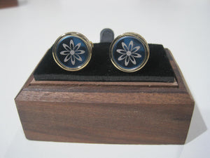Black and Gold Cufflink