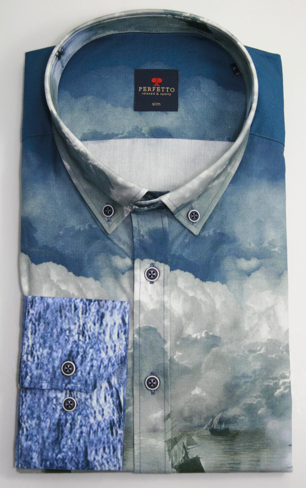 Pefetto Blue Shirt