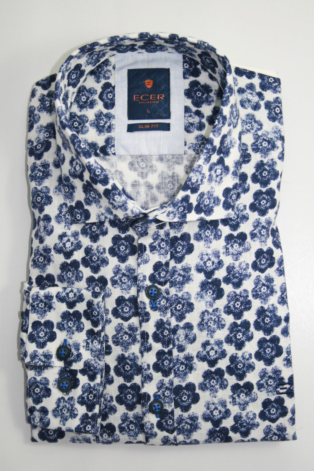 Shirt NIORT COTTON-LINEN SHIRT