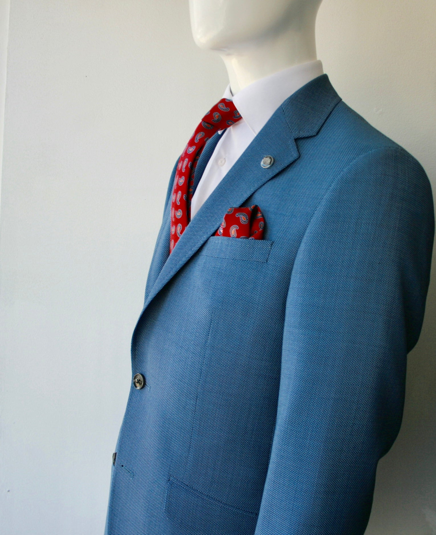 Ted Baker Blue Tailored-fit Suit