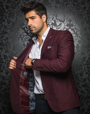 Au noir Blazer Morgan wine