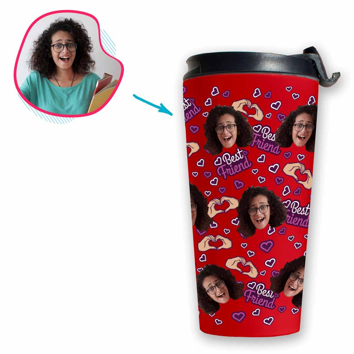 BFF for Her Personalized Travel Mug