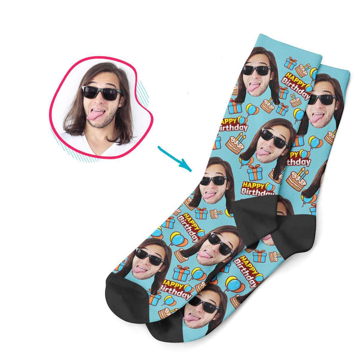 Birthday Personalized Socks