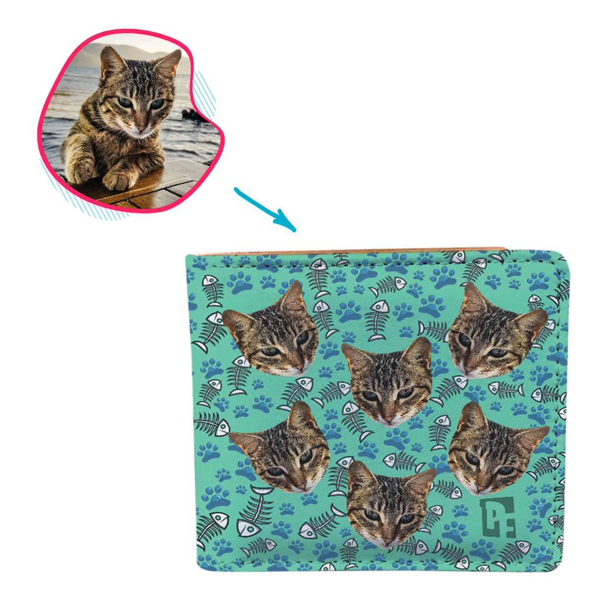 Cat Personalized Wallet