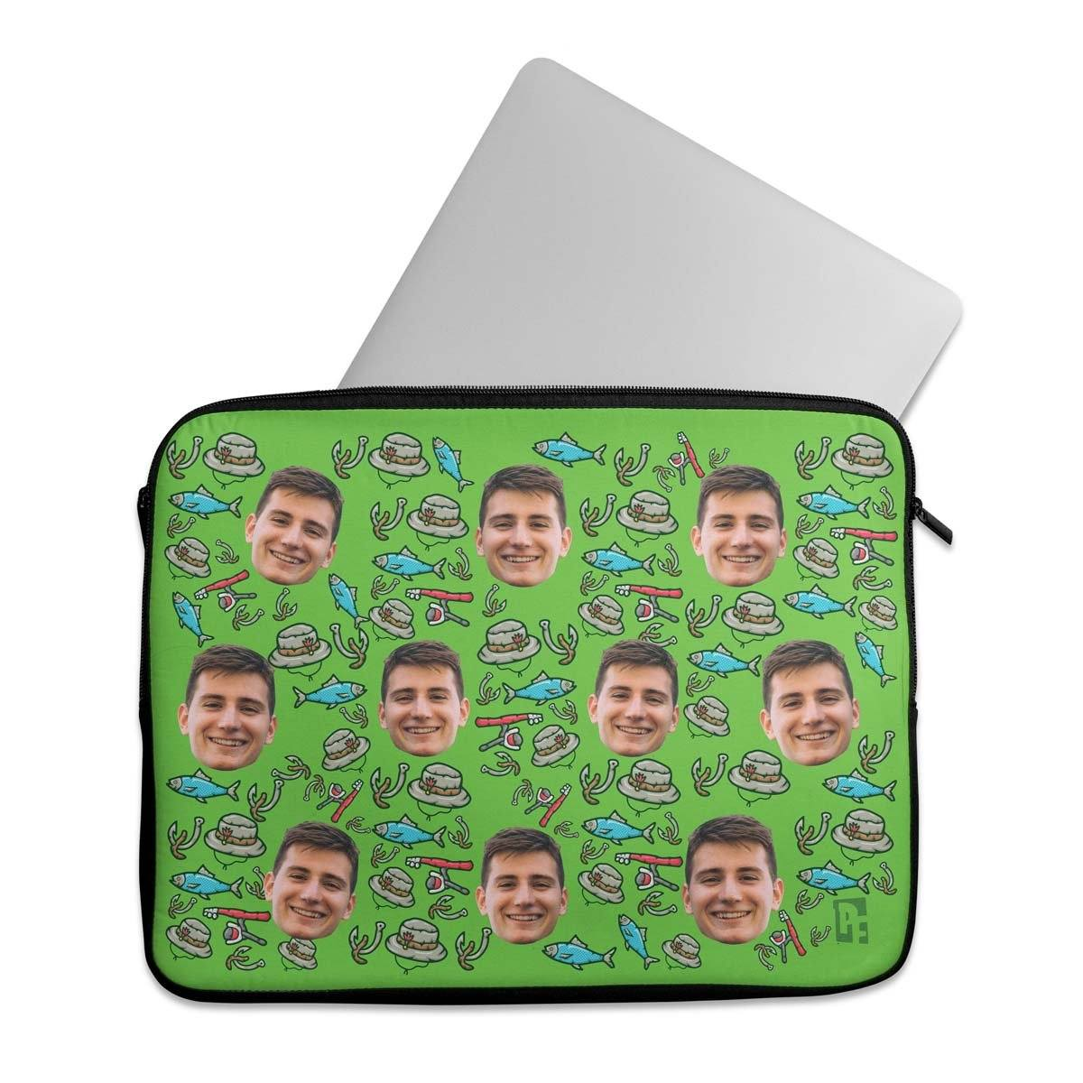 Fishing Personalized Laptop Sleeves