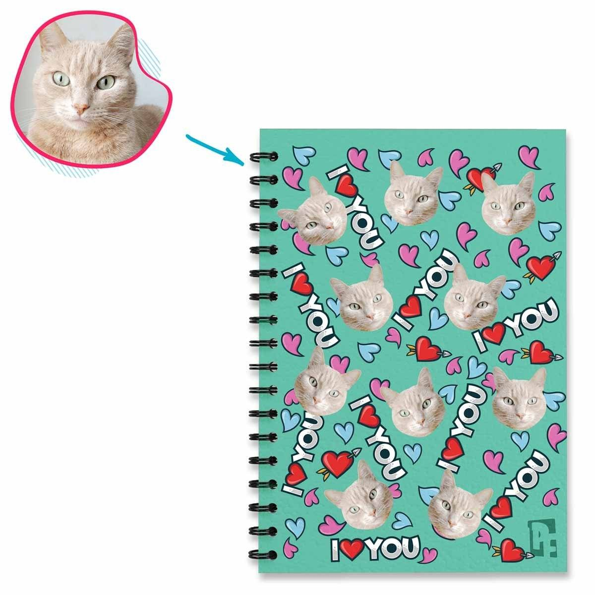Love You Personalized Notebook