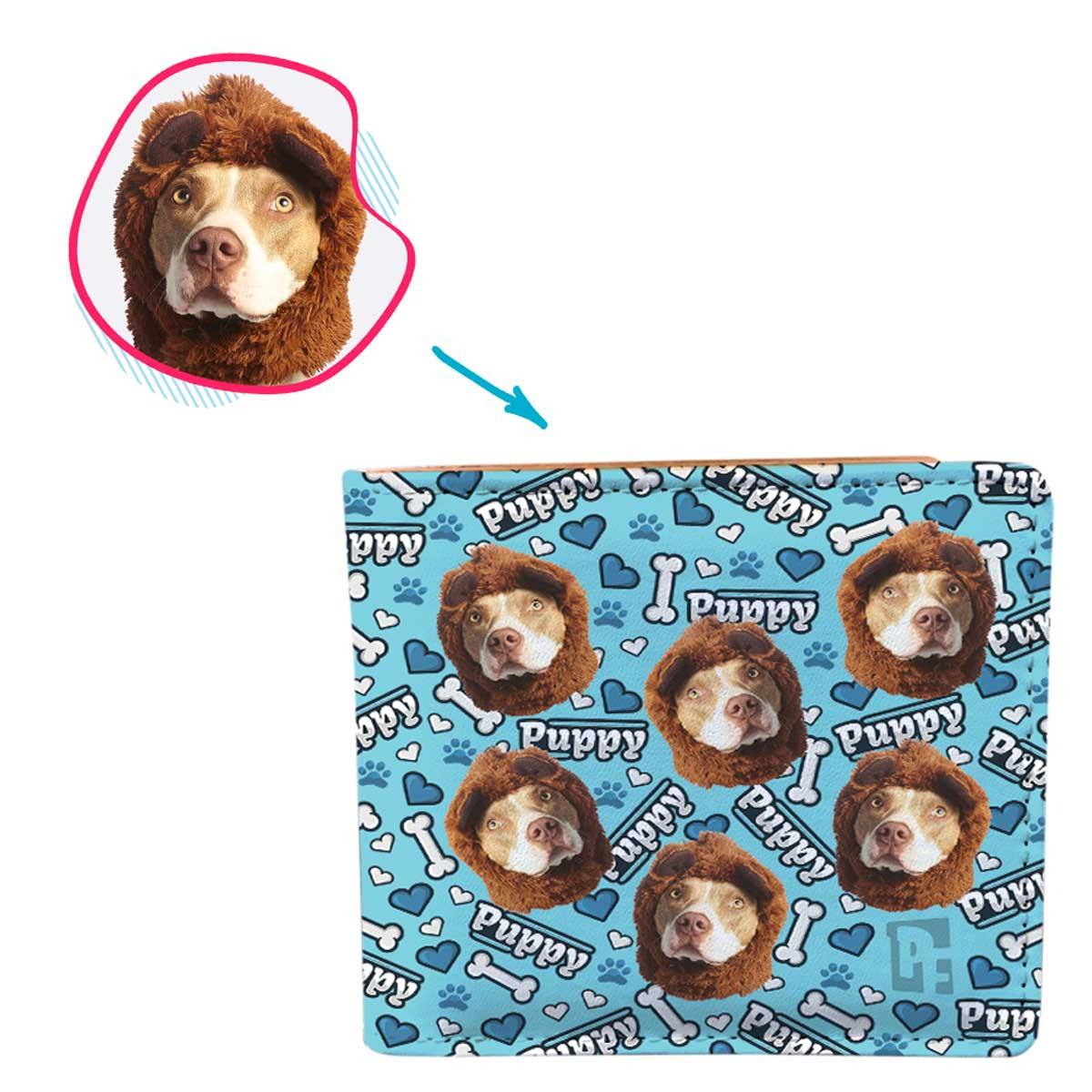 Puppy Personalized Wallet