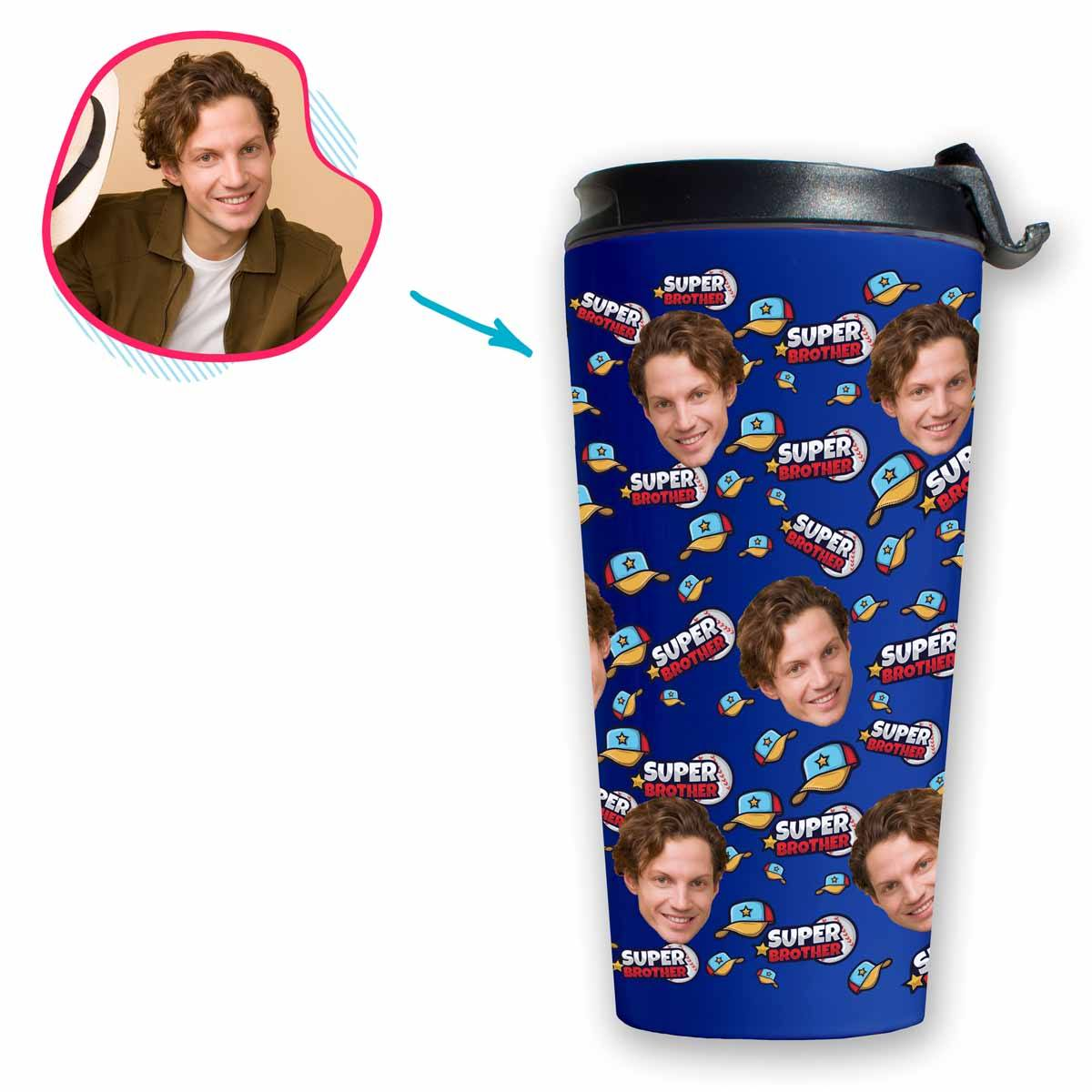 Super Brother Personalized Travel Mug