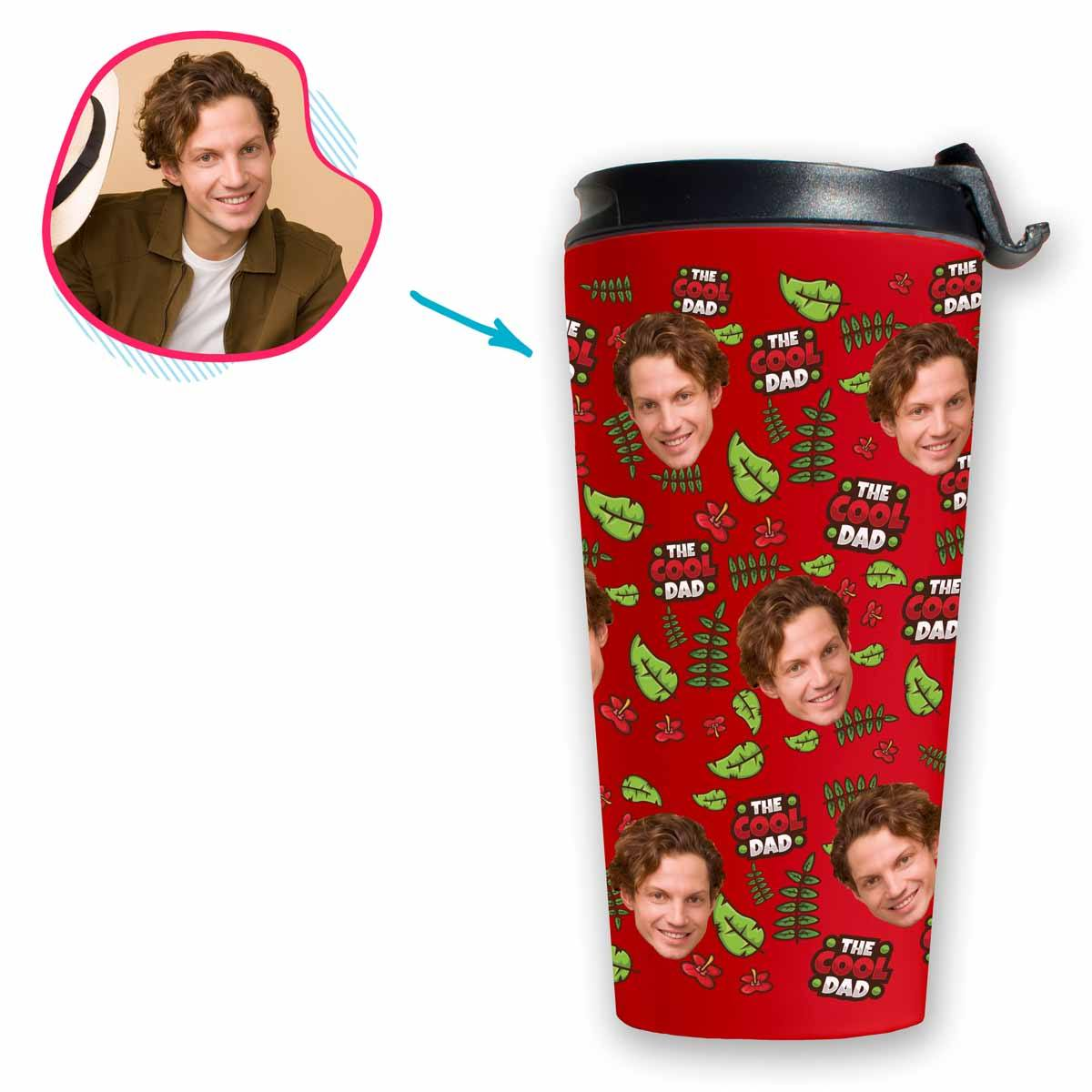The Cool Dad Personalized Travel Mug