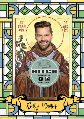Ricky Martin Original Prayer Candle