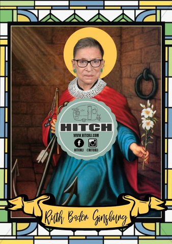 Ruth Bader Ginsburg Original Prayer Candle