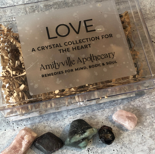 Love- Crystal Kit by Amityvile Apothecary