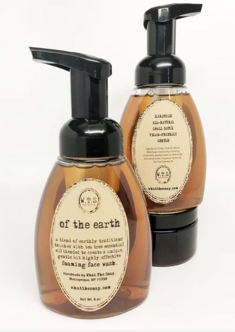 Of The Earth Foaming Face Wash
