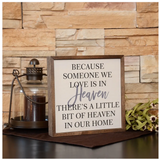 12x6 Spell and Tell Time Wall Sign or Desk Sitter