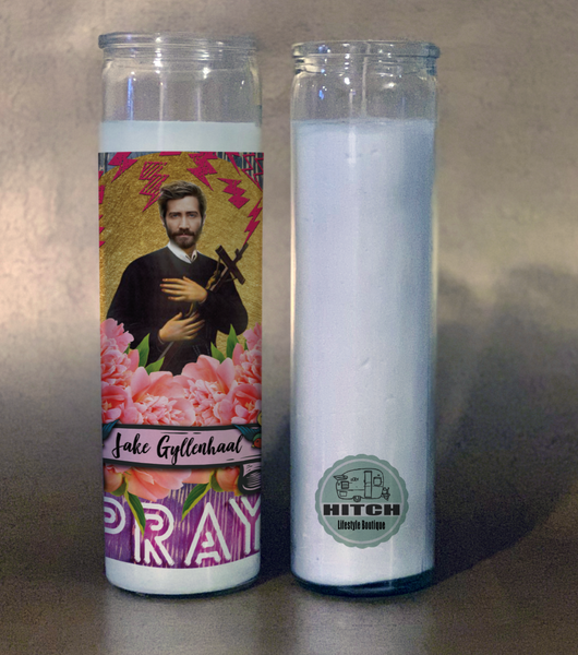 Jake Gyllenhaal Prayer Candle.