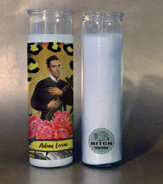 Adam Levine Prayer Candle.