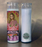 Kelly Clarkson Prayer Candle.