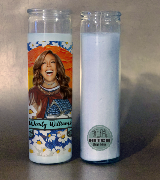 Wendy Williams Prayer Candle.