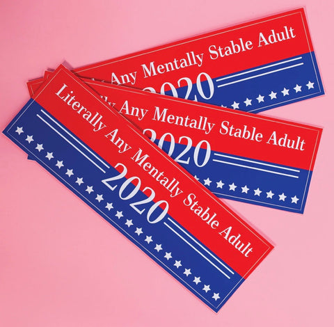 Bumper Sticker 2020 election