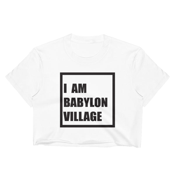 I AM BABYLON VILLAGE Women's Crop Top