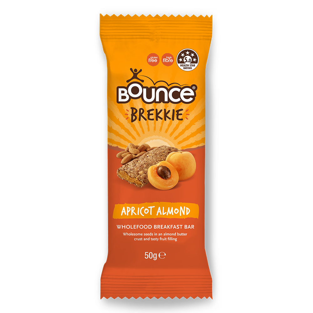 NEW! APRICOT ALMOND BREKKIE BAR