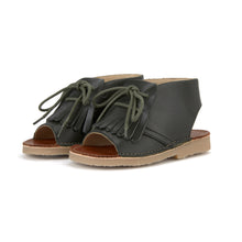 Load image into Gallery viewer, Agnes Lace-up Boot Sandal
