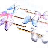 Butterfly Barrettes 6PCS