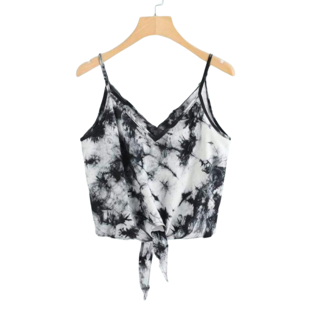 Reversible Tie Crop Top