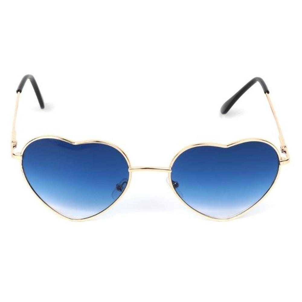 Heart Shaped Sunnies - Pacific Blue