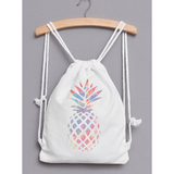Pineapple Drawstring Backpack