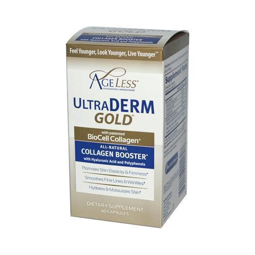 Ageless Foundation Ultraderm Gold Collagen Booster (60 Capsules)