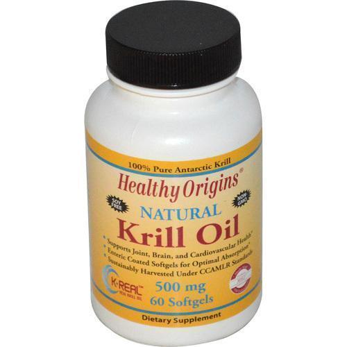 Healthy Origins Krill Oil 500 mg (60 Softgels)