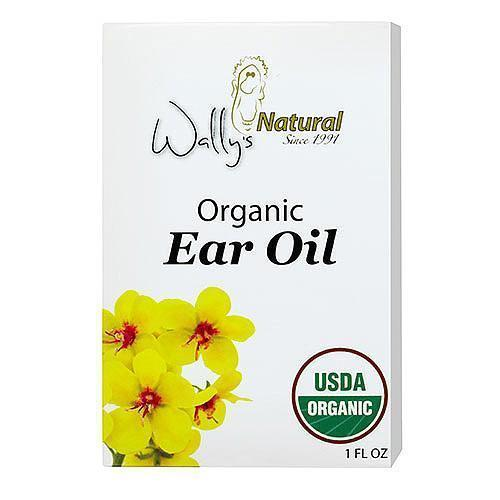 Wally's Natural Products Ear Oil Organic 1 fl Oz