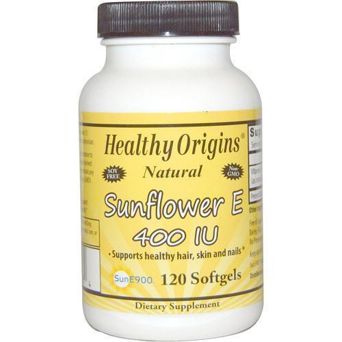 Healthy Origins Sunflower Vitamin E 400 IU (120 Softgels)