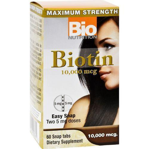 Bio Nutrition Inc Biotin  10000 mcg  60 Tablets