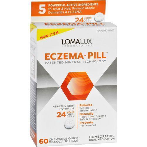 Loma Lux Laboratories Acne Eczema  Chewable  Quick Dissolving  60 Count