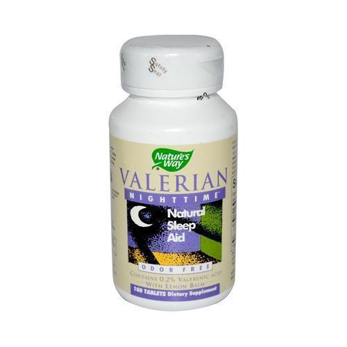 Nature's Way Valerian Nighttime 100 Tablets