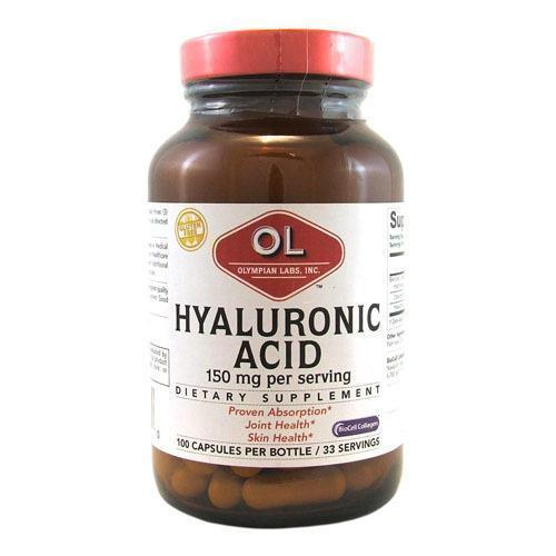 Olympian Labs Hyaluronic Acid with BioCell Collagen Type II (100 Capsules)