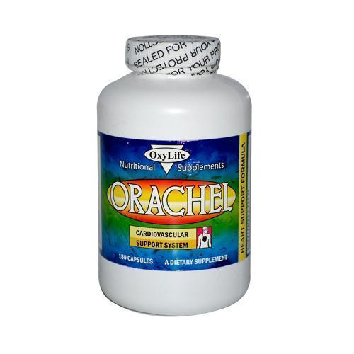 Oxylife Products Orachel Cardiovascular Support System 180 Caps