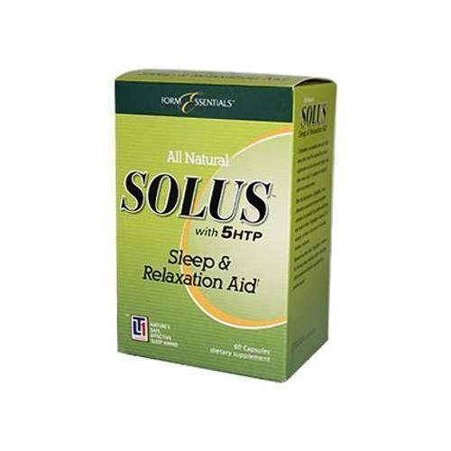 Solus With 5HTP and Melatonin (60 Capsules)