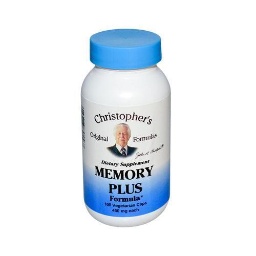 Dr. Christopher's Original Formulas Memory Plus Formula 450 mg (1x100 Caps)