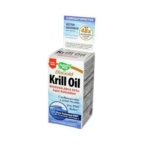 Nature's Way EfaGold Krill Oil (30 Softgels)